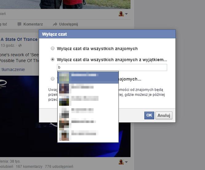 facebook czat